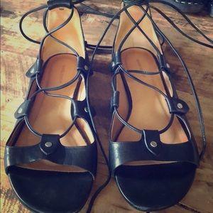 Isabel Marant Alisa Ankle-Wrap Sandal